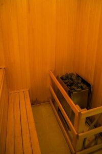 Фото сауны в санатории Русский лес Владимирской области